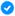 Badge bleu Facebook